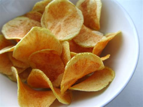 Handmade Crisps - potato chips recipe dishmaps