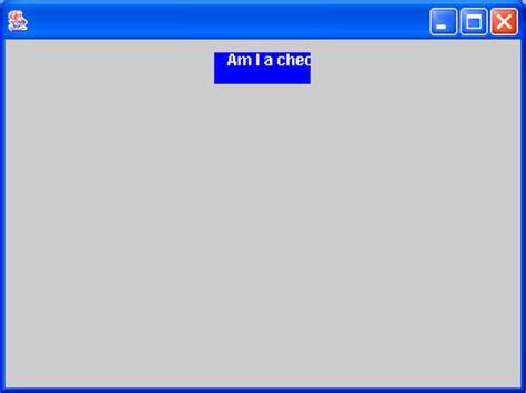 java swing button listener checkbox item listener checkbox button 171 swing jfc 171 java