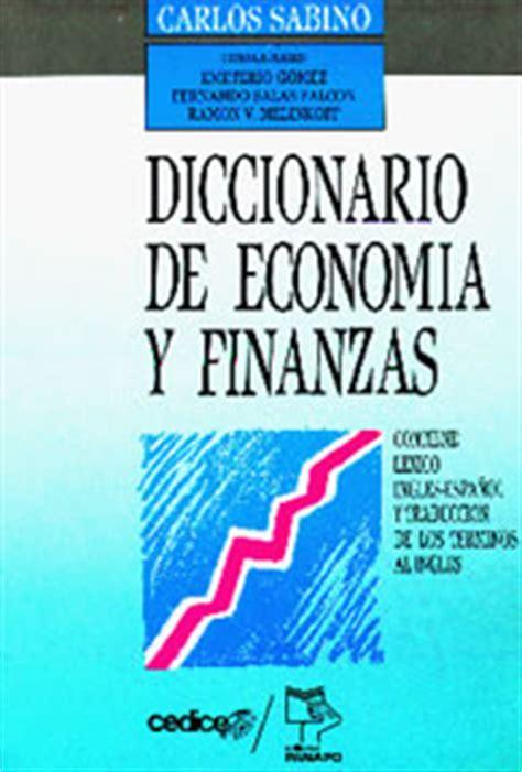 finanzas significado de finanzas diccionario carlos sabino