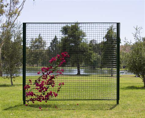 Trellis Works Freestanding Trellis ? Single Span & Fence Run