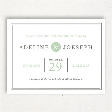 invitation printable save the date template 2265361