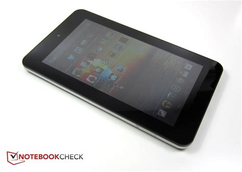 Tablet Hp Slate 7 review hp slate 7 tablet notebookcheck net reviews