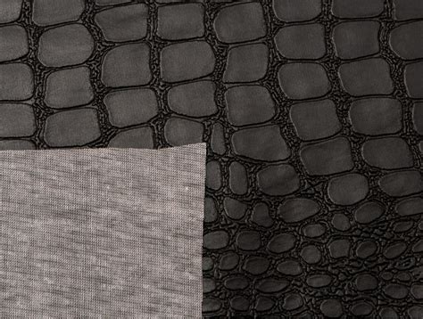 latex printable fabric mjtrends crocodile fabric black