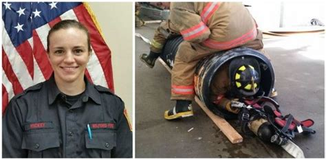 chris sullivan firefighter maureen hickey becomes first female firefighter to join