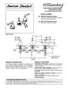 american standard indoor furnishings 2808 222 user s guide