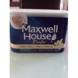 Maxwell House Coffee Review by Maxwell House Cafe Vanilla Instant Coffee Reviews In Coffee Chickadvisor