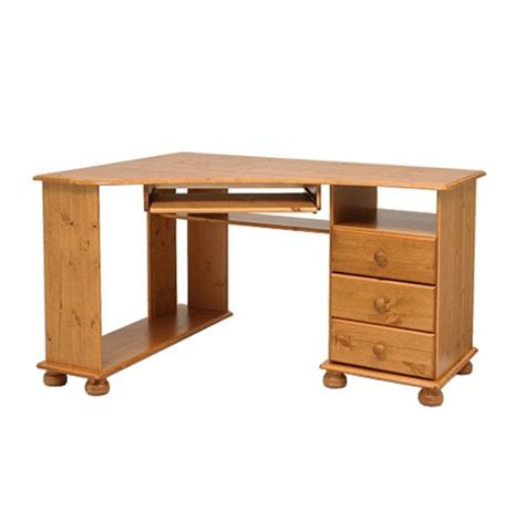 Corner Desk Pine Pine Computer Desks Reviews