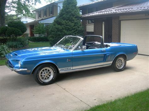 Matching For Sale 1968 Mustang Shelby Gt500kr Convertible Numbers Matching