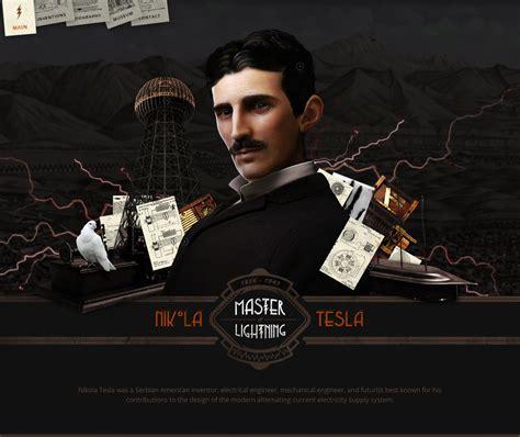Nikola Tesla Awards Nikola Tesla Tribute One Page Website Award