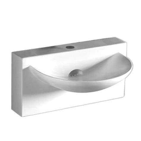 home depot wall mount sink whitehaus collection wall mounted bathroom sink