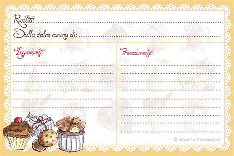 pdf ricette cucina ricettario ricettario per cucina e liste per spesa