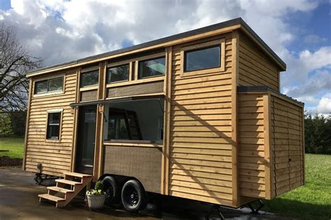 smarter small home design kit tiny house full of smart home features wants nearly 100k