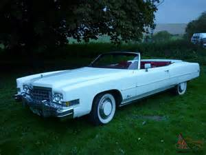 1973 Cadillac Convertible For Sale Cadillac Eldorado 1973 White Convertible