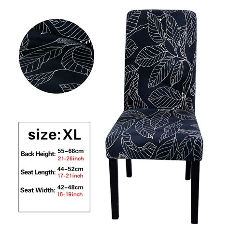 xl large printing chair cover big elastic seat chair