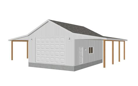 garage shop designs garage plans 8002 18 24 x 32 x 12 detached