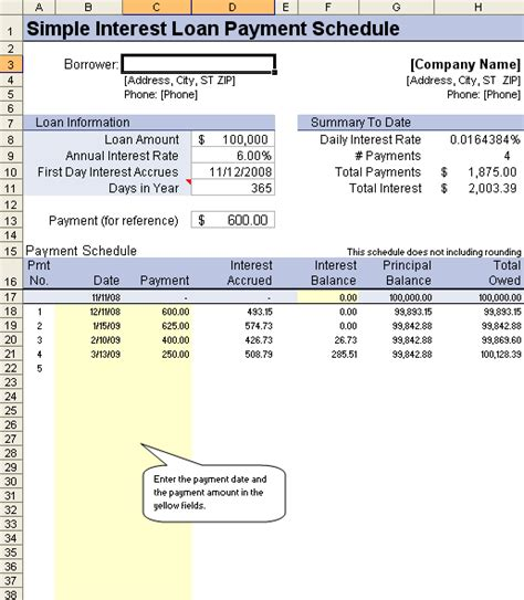 excel mortgage amortization schedule loan functional add azizpjax info