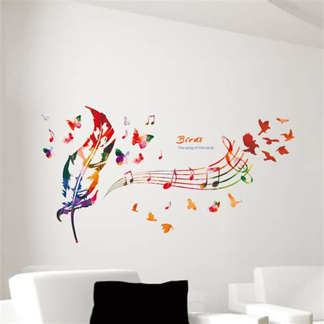 musical note wall stickers popular notes song buy cheap notes song lots