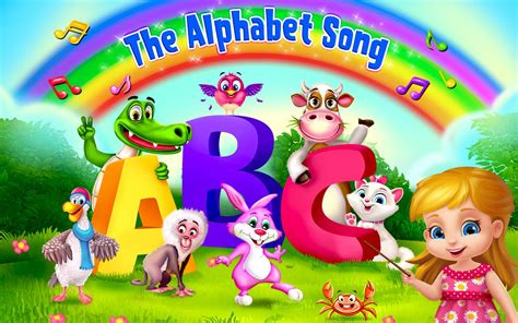 the that ate the alphabet learning abc s alphabet a to z fruits vegetables rhymes book ages 2 7 for toddlers preschool kindergarten series books abc song learning android apps on play