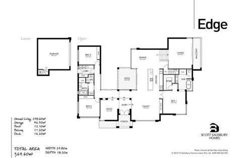 edge salisbury homes floor plans