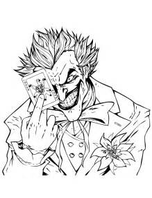 joker coloring pages joker holding joker card coloring page h m