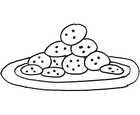 cookie coloring page baking cookies by cookie coloring pages best