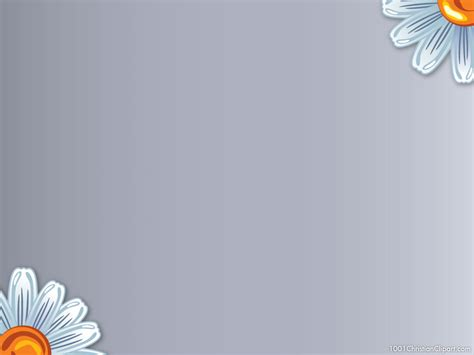 Flower Powerpoint Template 1001 Christian Clipart Powerpoint Flower Template