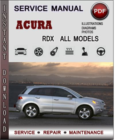 manual repair free 2008 acura rdx navigation system acura rdx service repair manual download info service manuals
