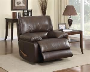 top grain leather rocket recliner co 21r recliners