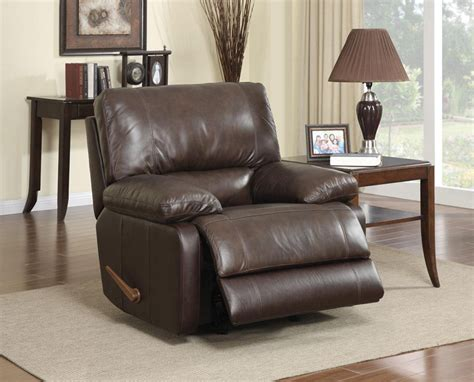 top grain leather recliners top grain leather rocket recliner co 21r recliners