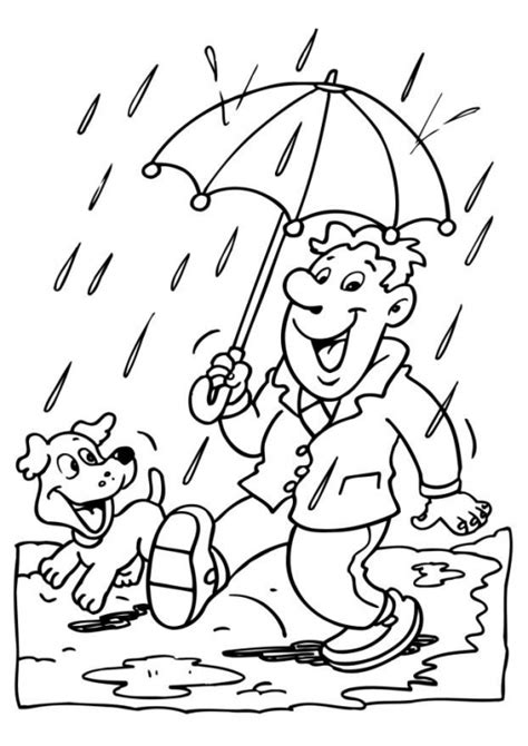 coloring page rain animations a 2 z coloring pages of rain