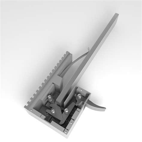 Triger 3d trigger crossbow 3d model