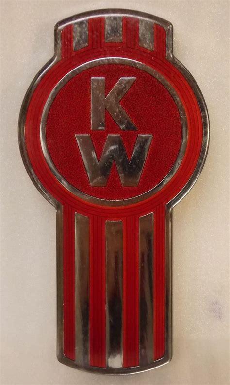 old kenworth emblem kenworth truck tractor metal emblem hood ornament nd