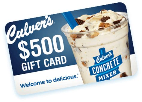 Culvers Gift Cards - culver s custard hero game