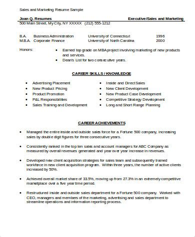 resume skill sles sle marketing skills resume 8 exles in word pdf