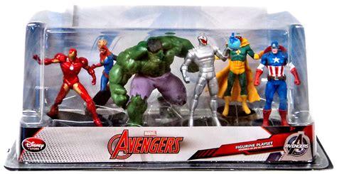 Pajangan Figure Marvel Set 6 marvel 6 pvc figurine playset on sale at