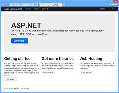 bootstrap templates for visual studio 2013 microsoft adds bootstrap support to visual studio 2013