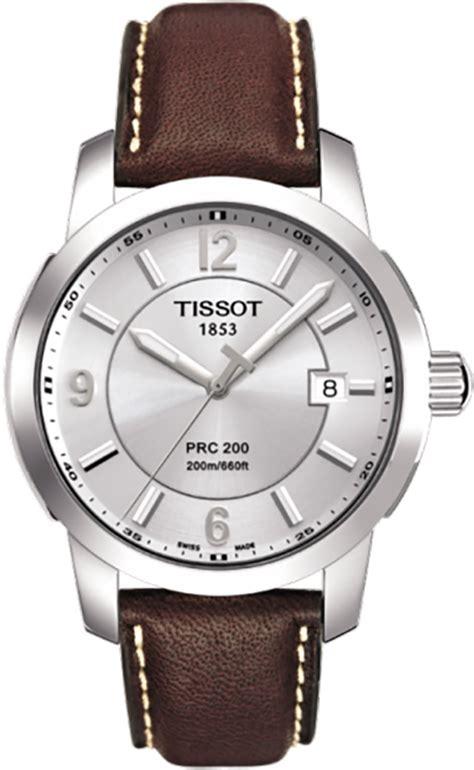 Tissot Prc 27 00 Silver t0144101603700 tissot prc 200 quartz mens steel