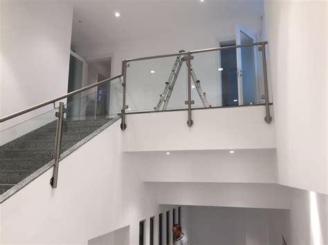 ringhiera vetro la metal design ringhiere in vetro
