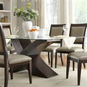Glass Wood Dining Table Sets 39 Modern Glass Dining Room Table Ideas