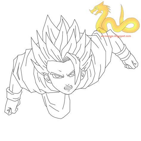 cara menggambar how to draw goku 16