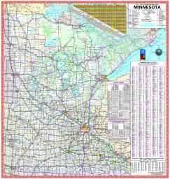 Mn State Map by Official Minnesota State Highway Map