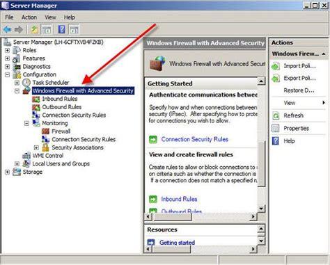 configure xp security how to configure the new windows server 2008 advanced
