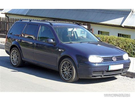 Auto Golf 1999 by 1999 Volkswagen Golf Iv Variant 1j5 Pictures