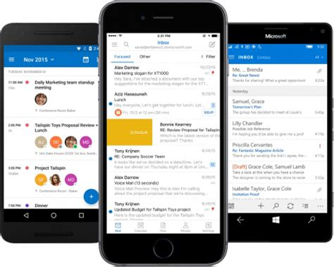 Flipmail Brings Mobile Email To The Masses by Outlook Update Brings Synced Calendars Delegate