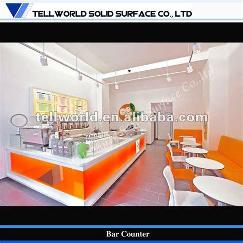 Home Furniture Wholesale Suppliers by Modern Design Led Milk Tea Shop Bar Counter Buy Bar