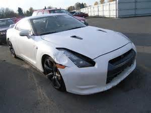 Wrecked Nissan Gtr For Sale Totaled 2010 Nissan Gt R Premi For Sale In Or Portland