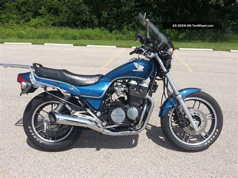 1984 honda cb650sc nighthawk classic