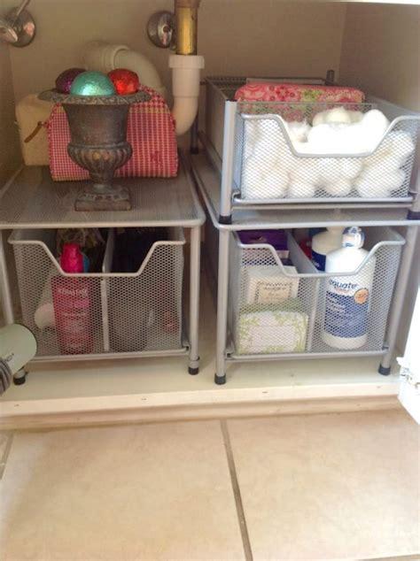 under kitchen sink storage ideas 25 best ideas about under bathroom sinks on pinterest