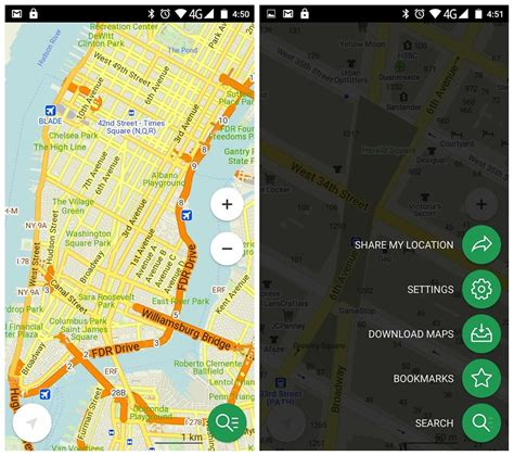 maps for android best free offline map apps for android androidpit