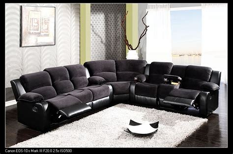 L Shaped Couches With Recliners by L Shaped Sofa With Recliner Small Sectional Sofa With